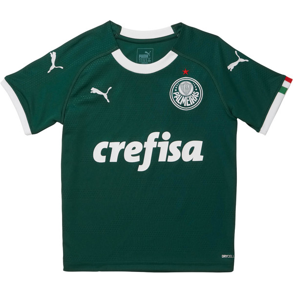 Palmeiras Home Replica Jersey I JR, Pepper Green, large
