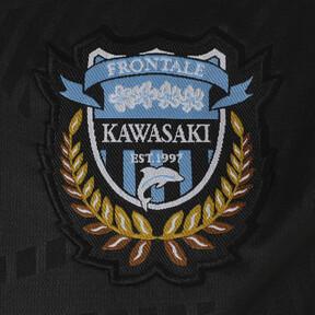 Thumbnail 6 of フロンターレ プレマッチ ハンソデ トレーニング シャツ, Puma Black-FR Blue, medium-JPN