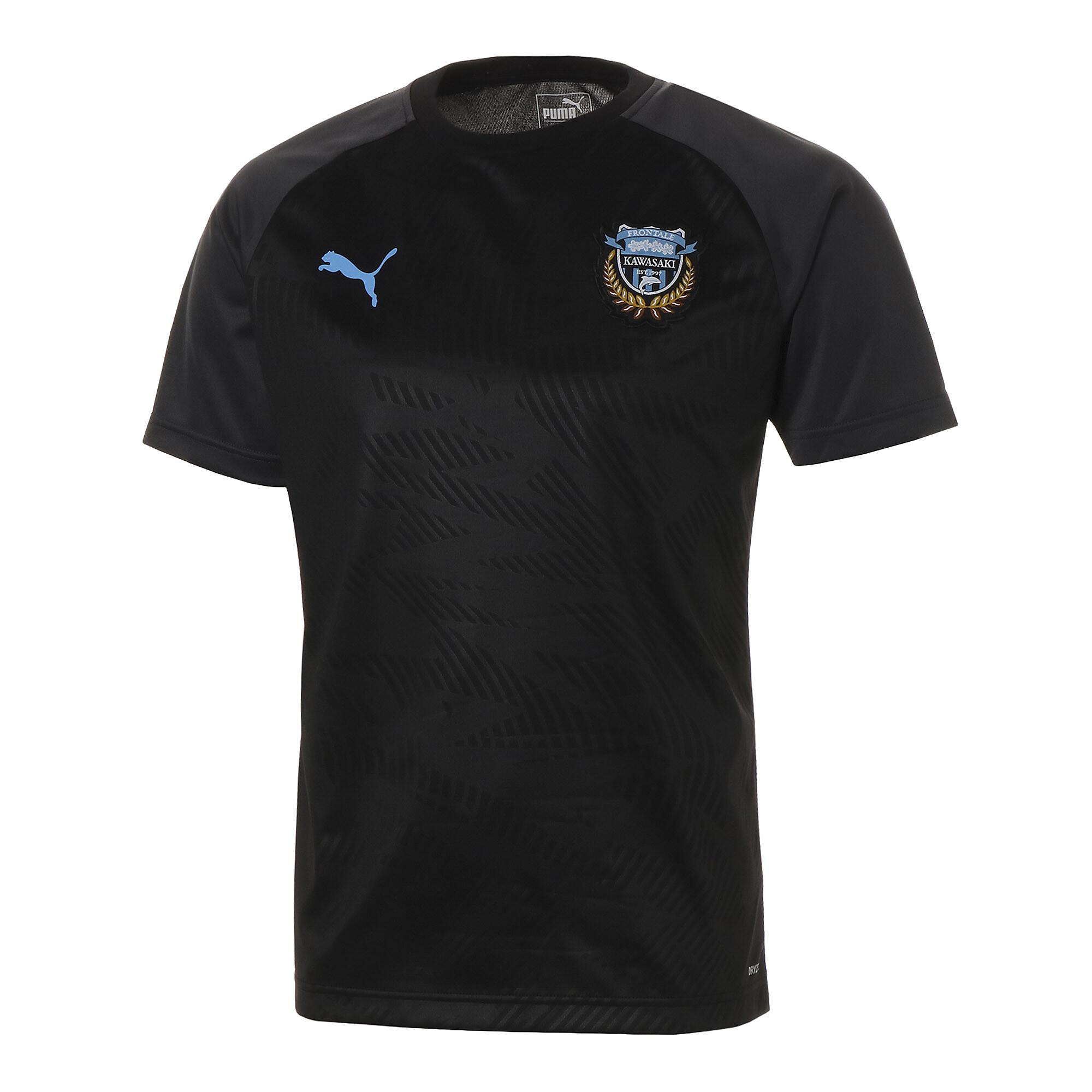 【プーマ公式通販】 プーマ フロンターレ プレマッチ ハンソデ トレーニング シャツ メンズ Puma Black-FR Blue |PUMA.com