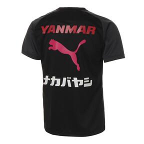 Thumbnail 2 of セレッソ 19 ハンソデ トレーニング シャツ, Puma Black-CR Pink, medium-JPN