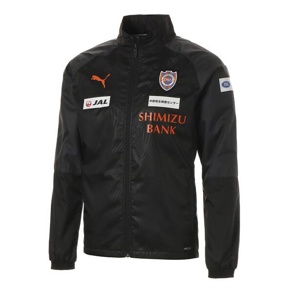 エスパルス 19 ラインド ウーブン ジャケット, Puma Black-SP orange, large-JPN