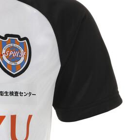 Thumbnail 4 of エスパルス 19 ハンソデ トレーニング シャツ, Puma White, medium-JPN