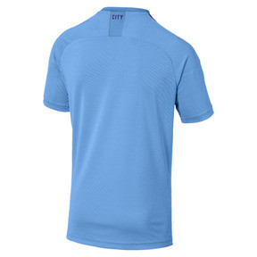 Thumbnail 2 of Manchester City Herren Replica Heimtrikot, TeamLightBlue-TillandsiaPurp, medium