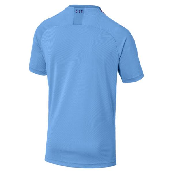 Réplica de camiseta de local de Manchester City FC para hombre, TeamLightBlue-TillandsiaPurp, grande
