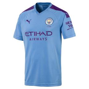 Miniatura 1 de Réplica de camiseta de local de Manchester City FC para hombre, TeamLightBlue-TillandsiaPurp, mediano