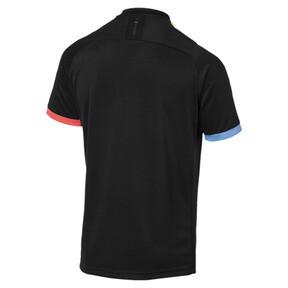 Miniatura 2 de Réplica de camiseta de visitante de Manchester City para hombre, Puma Black-Georgia Peach, mediano