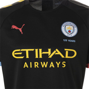 c8652155c Thumbnail 6 of Man City Short Sleeve Men's Away Replica Jersey, Puma Black- Georgia