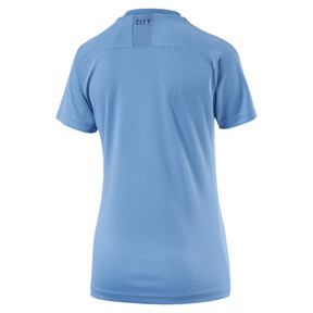 Thumbnail 2 of Man City Women's Home Replica Jersey, TeamLightBlue-TillandsiaPurp, medium