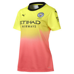 Man City Short Sleeve Women's Replica Third Jersey