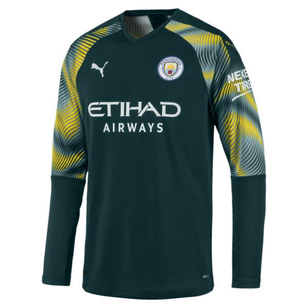 the best attitude 6faea 97a42 Manchester City FC Men's Goalkeeper Replica Jersey