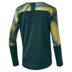 Thumbnail 2 of Man City Long Sleeve Kids' Replica Goalkeeper Jersey, Ponderosa Pine-Cyber Yellow, medium