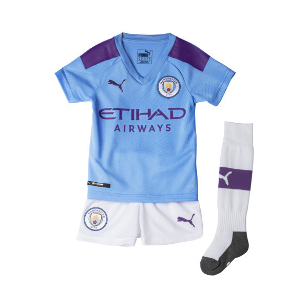 best cheap 1f368 bd13b Man City Kids' Home Replica Mini Kit