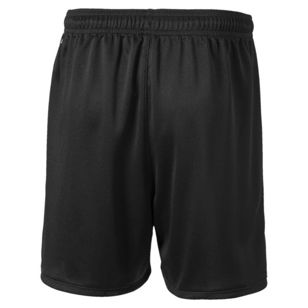 Manchester City FC Kids' Third Replica Shorts, Puma Black-Georgia Peach, large