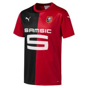 Thumbnail 1 of Stade Rennais FC Men's Home Replica Jersey, Puma Red-Puma Black, medium