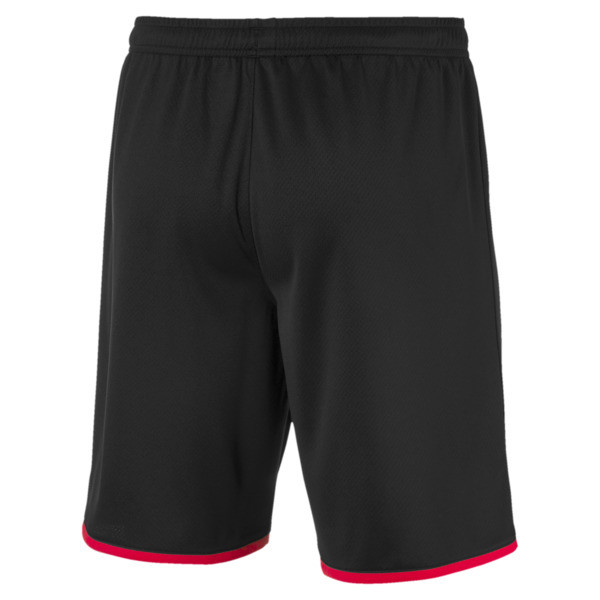 Stade Rennais Men's Replica Shorts, Puma Black-Puma Red, large