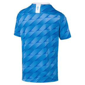 Thumbnail 2 of Olympique de Marseille Men's Away Replica Jersey, Bleu Azur-Puma White, medium