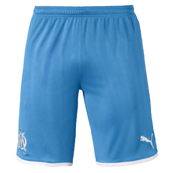 Olympique de Marseille replica-short voor mannen, Bleu Azur-Puma White, large