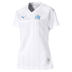 Olympique de Marseille Women's Home Replica Jersey