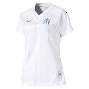 Thumbnail 1 of Maillot Domicile Olympique de Marseille Replica pour femme, Puma White-Bleu Azur, medium
