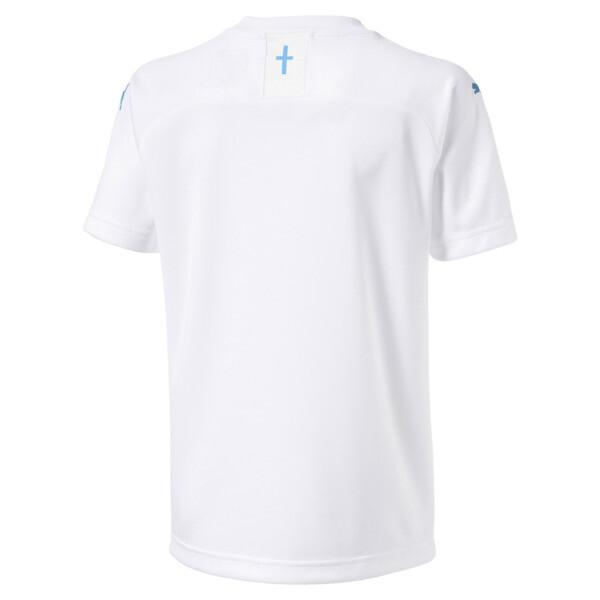 Olympique de Marseille Boys' Home Replica Jersey, Puma White, large