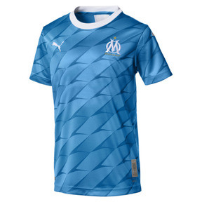 Olympique de Marseille Boys' Away Replica Jersey