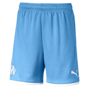 Thumbnail 1 van Olympique de Marseille replica-short voor jongens, Bleu Azur, medium