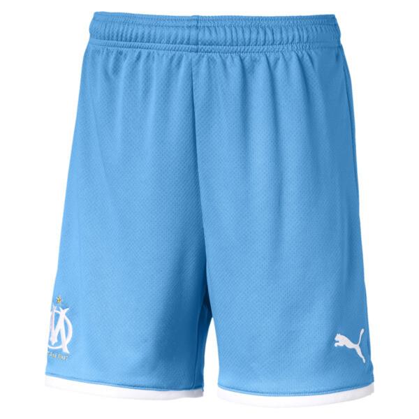 Olympique de Marseille replica-short voor jongens, Bleu Azur, large
