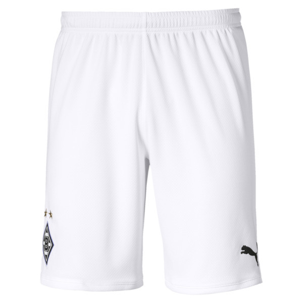 Borussia Mönchengladbach Men's Replica Shorts, Puma White, large
