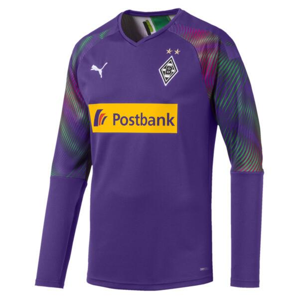 Borussia Mönchengladbach Men's Goalkeeper Replica Jersey, Prism Violet, large