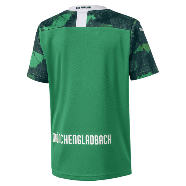 Borussia Mönchengladbach Kids' Third Replica Jersey, Amazon Green-Ponderosa Pine, large