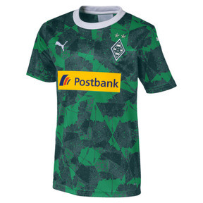 Thumbnail 1 of Borussia Mönchengladbach Kinder Replica Ausweichtrikot, Amazon Green-Ponderosa Pine, medium