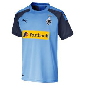 Thumbnail 1 of Borussia Mönchengladbach Jungen Replica Auswärtstrikot, Team Light Blue-Peacoat, medium