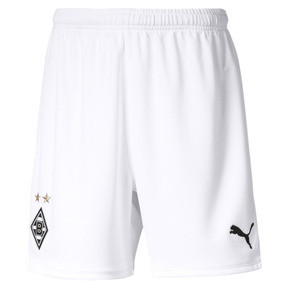 Thumbnail 1 of Borussia Mönchengladbach Boys' Replica Shorts, Puma White, medium