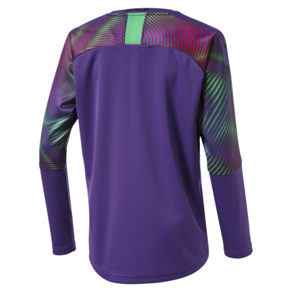 Borussia Mönchengladbach Boys' Replica Goalkeeper Jersey, Prism Violet, large