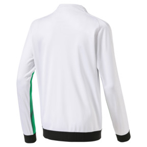 Thumbnail 2 of Borussia Mönchengladbach Kids' Stadium Jacket, Bright Green-Puma Black, medium