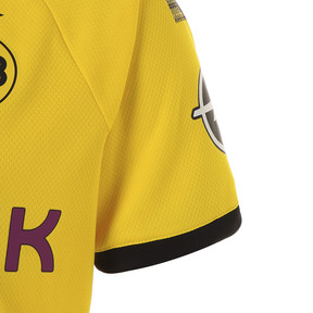 Thumbnail 4 of ドルトムント BVB SS ホーム オーセンティック シャツ (半袖), Cyber Yellow-Puma Black, medium-JPN