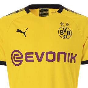 Thumbnail 6 of ドルトムント BVB SS ホーム オーセンティック シャツ (半袖), Cyber Yellow-Puma Black, medium-JPN
