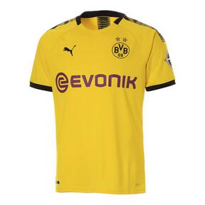 Thumbnail 1 of ドルトムント BVB SS ホーム オーセンティック シャツ (半袖), Cyber Yellow-Puma Black, medium-JPN