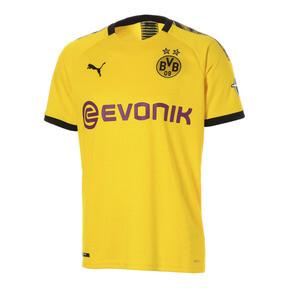 Thumbnail 1 of ドルトムント BVB SS ホーム レプリカシャツ (半袖), Cyber Yellow-Puma Black, medium-JPN