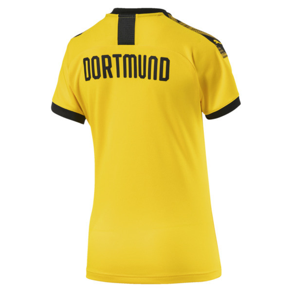 BVB Damen Replica Heimtrikot, Cyber Yellow-Puma Black, large