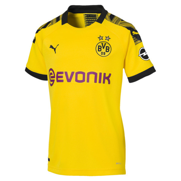 BVB Women's Home Replica Jersey, Cyber Yellow-Puma Black, large