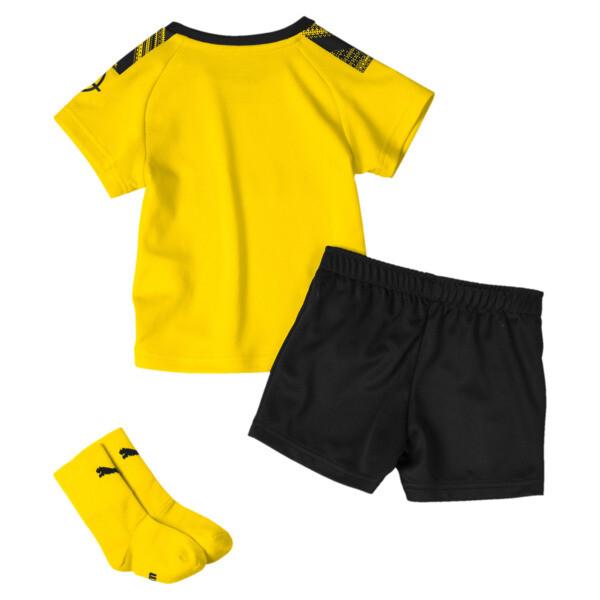 BVB Babies' Home Mini Kit, Cyber Yellow-Puma Black, large
