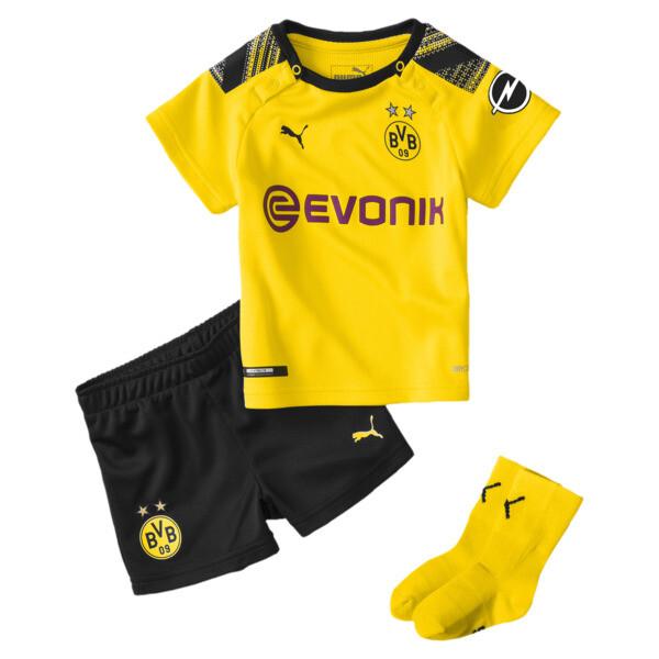 BVB Babies Heim Mini Set, Cyber Yellow-Puma Black, large