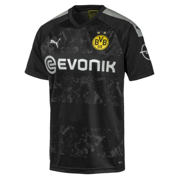 BVB Herren Replica Auswärtstrikot, Puma Black, large