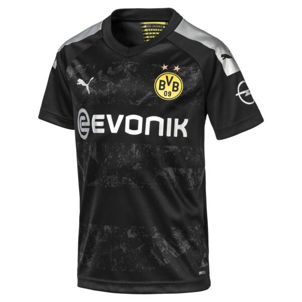 BVB Jungen Replica Auswärtstrikot, Puma Black, large