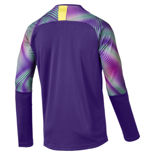 BVB Replica Long Sleeve Men's Goalkeeper Jersey, Prism Violet, large