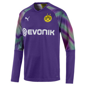 Thumbnail 1 of BVB Replica Long Sleeve Men's Goalkeeper Jersey, Prism Violet, medium