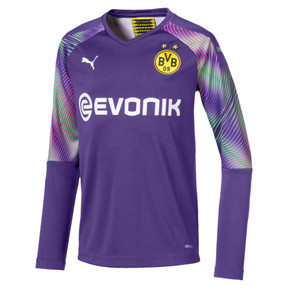 Thumbnail 1 of BVB Boys' Replica Goalkeeper Jersey, Prism Violet, medium