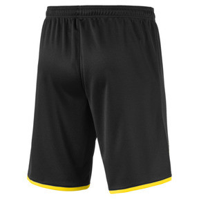 Thumbnail 2 of BVB Men's Away Replica Shorts, Puma Black-Cyber Yellow, medium