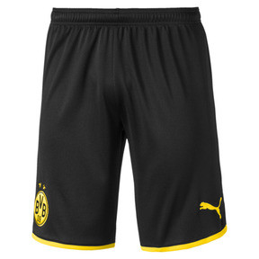 Thumbnail 1 of BVB Men's Away Replica Shorts, Puma Black-Cyber Yellow, medium